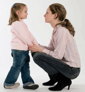 поговорить с ребёнком