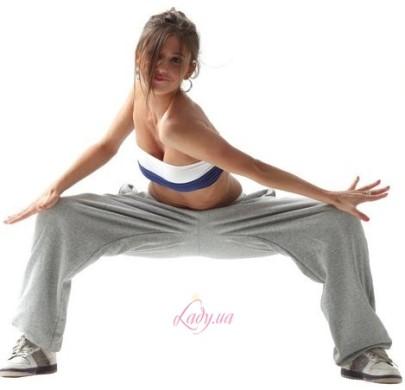 как убрать жир возле коленей