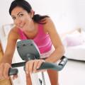 Тренировка на велотренажере