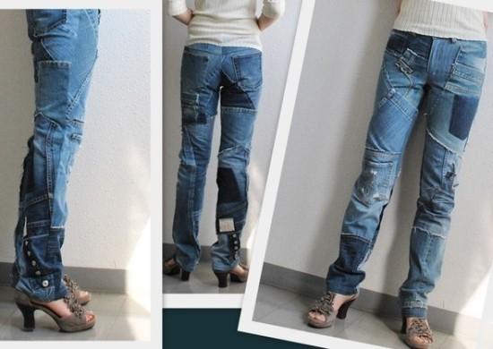 ремонт старой одежды