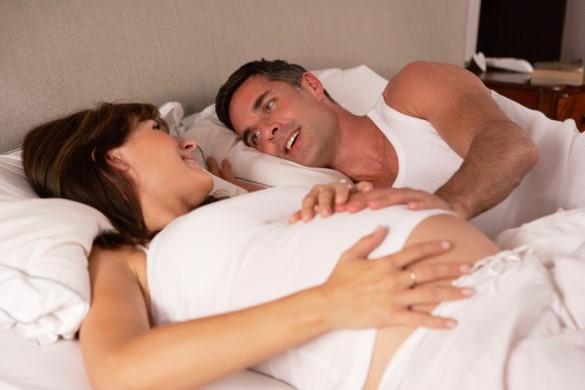 заниматься сексом с беременной женщиной