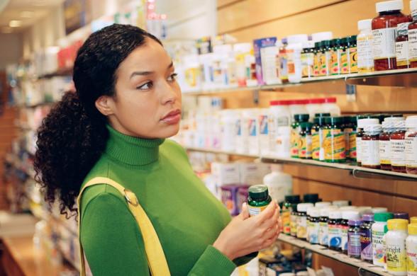 Приобретение витаминов