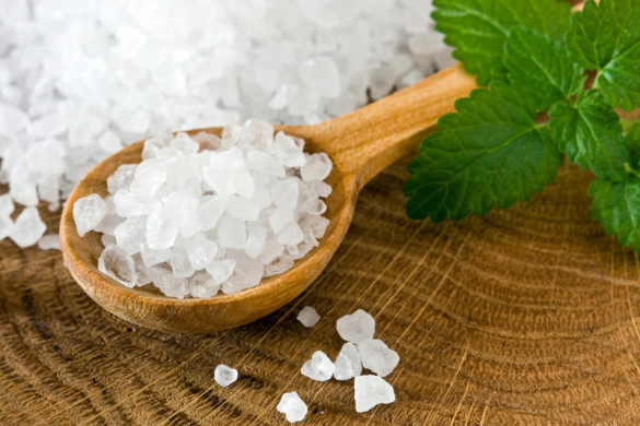 Морская соль для ухода за руками