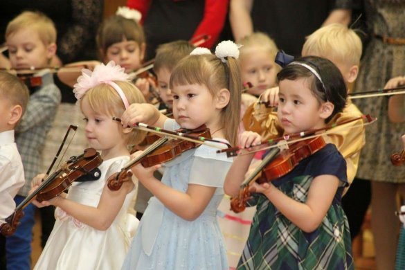 Музыка и развития ребенка